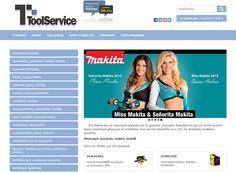 www.toolservice.gr #Ηλεκτρικά #εργαλεία και εργαλεία #χειρός γνωστών κατασκευαστών όπως #Makita, #Dewalt, #Stanley και χιλιάδες ανταλλακτικά και αναλώσιμα εργαλείων από την Toolservice. Ένα ακόμα #responsive #Eshop που κατασκεύασε η IPS. Βγείτε μπροστά από τον ανταγωνισμό και πουλήστε στο Internet με ένα σύγχρονο και αποδοτικό Eshop από την εταιρία μας. Καλέστε μας στο 2310 300326 για μια πρώτη γνωριμία και προσφορά.