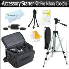 Accessory Starter Kit For The Nikon Coolpix L21, L22, L110 L120, L310, L810, L820, L620 Digital Came