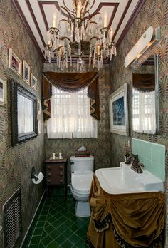 Haunted Mansion Bathroom Makeover http://disneytravelbabble.com/blog/2016/10/18/our-haunted-mansion-bathroom-makeover/