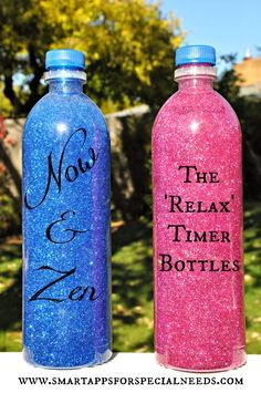 With just a little time and a visit to the craft store, you can make a beautiful glitter bottle to calm even the most stressed people.  T...