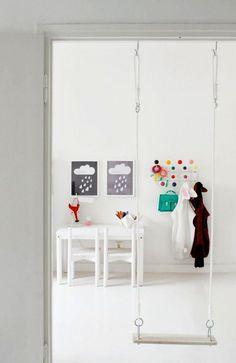 #kids #decor #interior #design #diy #projects #paper #swing #baby #crib #diybazaar #dormitoare #copii #bebelusi #leagan