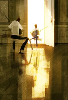 Pascal Campion, Makers of magic. from a while back #pascalcampion Watercolor Illustration, Digital Illustration, Storyboard, Pascal Campion, Visual Development, Graphic, Concept Art, Digital Art, Deviantart