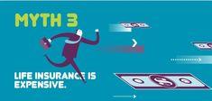 - 9 Myths about Life - Myth 3 Life Insurance Types, Life Insurance Broker, Life Insurance Premium, Online Insurance, Whole Life Insurance, Insurance Marketing, Life Insurance Quotes, Term Life Insurance, Best Insurance