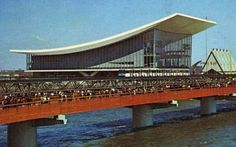 This postcard is a bit of Canadiana - it's from Expo 67 in Montreal