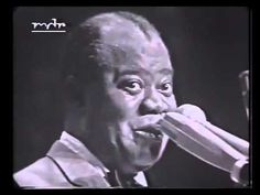 Louis Armstrong & his All Stars live in Berlin 1965 Louis Armstrong - Trumpet, Vocal Eddie Shu - Clarinet Tyree Glenn - Trombone Billy Kyle - Piano Arvell Sh. Dance Music, Music Songs, Music Videos, Louis Armstrong, 1940 Music, Happy New Year Baby, Freedom Video, Billy Preston, Dream Music