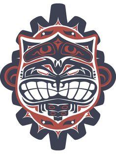 074 - Haida Study by Joshua M. Smith, via Behance
