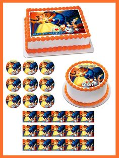 Beauty and the Beast Belle Edible Birthday Cake Topper OR Cupcake Topper #BirthdayChild