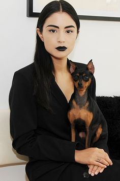 Black Lipstick Underlines Every Word I Say #refinery29