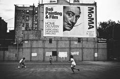 NYC. Surrealist, Wild eyed Dali // 500px by Luc Kordas Street