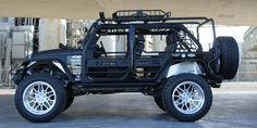 2016 Custom Jeep Wrangler Unlimited SEMA Show Car