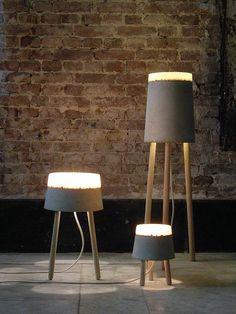 Concrete Lamps - Buscar con Google