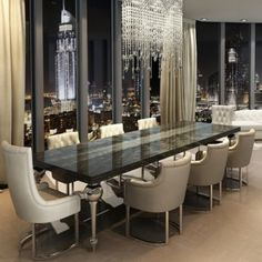To move, to shock, to offend, or to be fabulous in your interior décor project. Dinning Room Buffet, Dining Decor, Dining Area, Luxury Dining Room, Dining Rooms, Dining Room Inspiration, Luxury Furniture, Furniture Online, Decoration