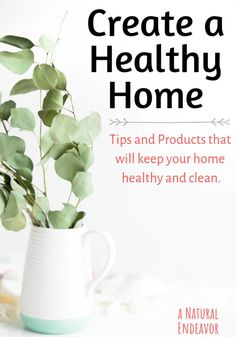 Amazing Cleaning Products for a Holistic Home - a Natural Endeavor Healthy Living Tips, Healthy Tips, Healthy Habits, Healthy Holistic Living, Healthy Menu, Happy Healthy, Healthy Salads, Healthy Eating, Healthy Recipes