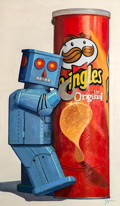 Pringles - Eric Joyner Robots and Donuts Artist