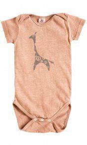 Giraffe on Hemp Snappie - made in usa