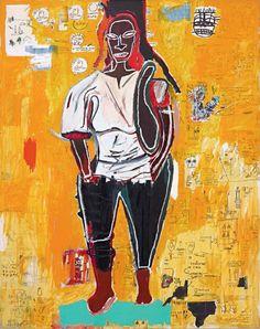 Jean-Michel Basquiat, Big Joy, 1984