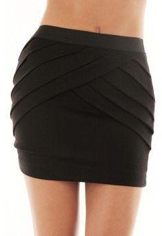 #kiwilook.com             #Skirt                    #OVERLAP #PLEAT #SKIRT #KiwiLook #fashion           OVERLAP PLEAT SKIRT @ KiwiLook fashion                                        http://www.seapai.com/product.aspx?PID=877780