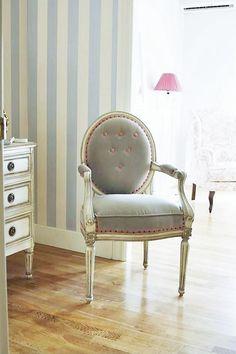 Pareja de butacas francesas estilo luis xv de francia - Butaca dormitorio ...