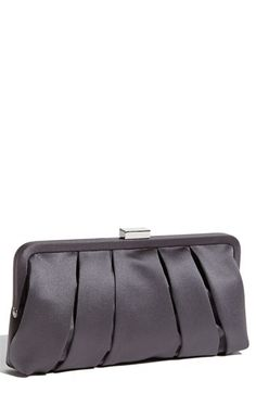 Nina Pleated Satin Clutch | Nordstrom