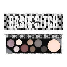 Personality Palettes Basic Bitch MAC Cosmetics Official Site ($40) ❤ liked on Polyvore featuring beauty products, makeup, eye makeup, eyeshadow, mac cosmetics eyeshadow, palette eyeshadow and mac cosmetics