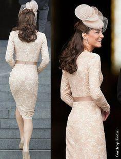 Gardrop Kedisi: Kate Middleton: Daha çok McQueen