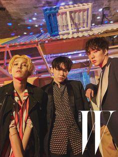 NAM TAEHYUN, KIM JINWOO, KANG SEUNGYOON x WINNER   W KOREA FEBRUARY '16 ISSUE