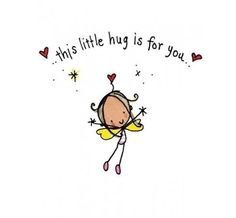 This little hug is for you and for you... sterkte vandaag! xx