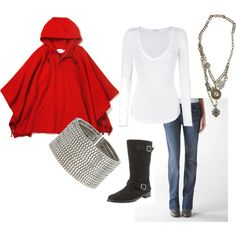 "cute outfit- very ""walking down the streets of London on a misty day"""