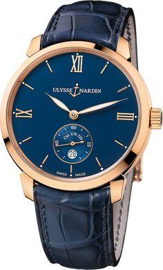 La Cote des Montres : La montre Ulysse Nardin Classico Manufacture - Ulysse Nardin lance le premier mouvement maison pour la collection Classico