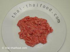Schweine Hackfleisch Pork Soup, Food, Ground Meat, Asian Soup, Eten, Meals, Diet