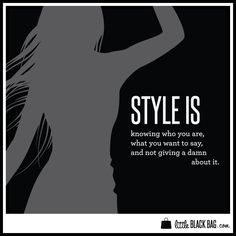 What's your definition of style?