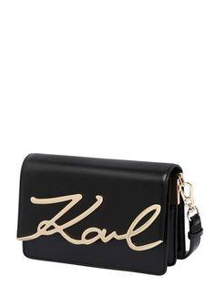 Wallet for Women, Black, PVC, 2017, One size Karl Lagerfeld