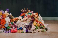 Crochet Coral Reef e