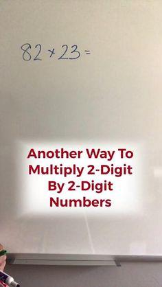 Math Lessons, Math Tips, Math Hacks, Math Resources, Math Activities, Cool Math Tricks, Math Tutorials, Math Vocabulary, Math Formulas