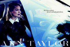 Kate Hudson for Ann Taylor Fall 2013
