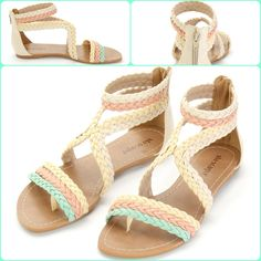 Sadália Rasteira Via Scarpa Andaraki  #Rasteira #Candy#Andaraki I love this!!!  #love #shoes #flatsandal #candy #myjob  ;)
