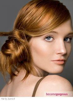 Chic Loop Bun Hair Style