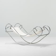 """Symetrique Rocking Chair by Jean-Michel Sanejouand, 1971 """