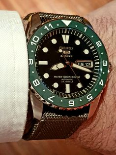 Men's Watches, Watches For Men, Seiko Mod, Arm Candies, Labs, Omega Watch, Mens Fashion, Orange, Gallery