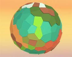Procedural Voronoi Planet Generator & Editor