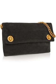 Marc by Marc Jacobs | Hold Tight suede clutch | NET-A-PORTER.COM