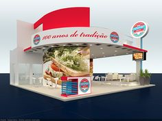 Exhibition Desing 01 on Behance