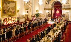 Princes William and Harry, in addition to Kate Middleton, attended the state banquet that was held in honor of Letizia and Felipe's state visit.