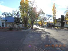 Residential neighborhood in Flagstaff, Arizona