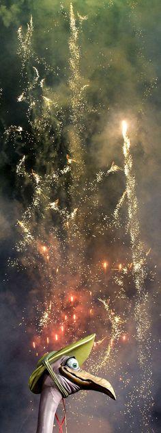 Las Fallas - Valencia, Spain ~~ For more:  - ✯ http://www.pinterest.com/PinFantasy/cultura-~-fiestas-y-tradiciones/