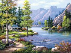 levkonoe: Sung Kim-Lakeside Lodge