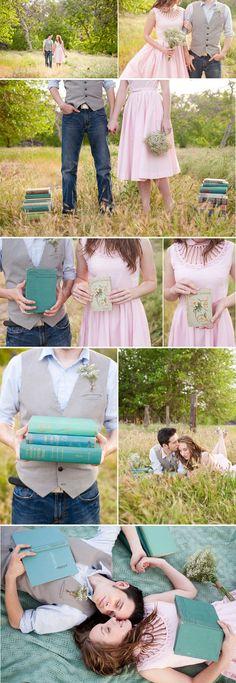 Annie + Ryan's engagement session - Joleen Willis Photography - via loveandlavender