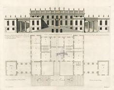 Vitruvius Britannicus Architectural Prints from 1715 by Colen Campbell Esq Bramham Park