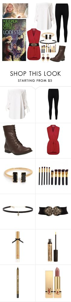 """LODESTAR JUST CAME"" by hyperducky ❤ liked on Polyvore featuring TIBI, Boohoo, Wet Seal, Carbon & Hyde, Victoria's Secret, NYX, Yves Saint Laurent, White House Black Market, keeper and kotlc"