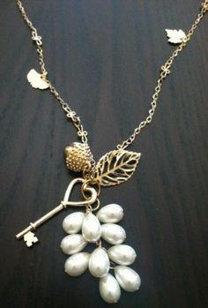 Kerin Leigh's Autumn Charm Necklace
